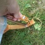 Clipverschlüsse zur Befestigung des Außenzeltes