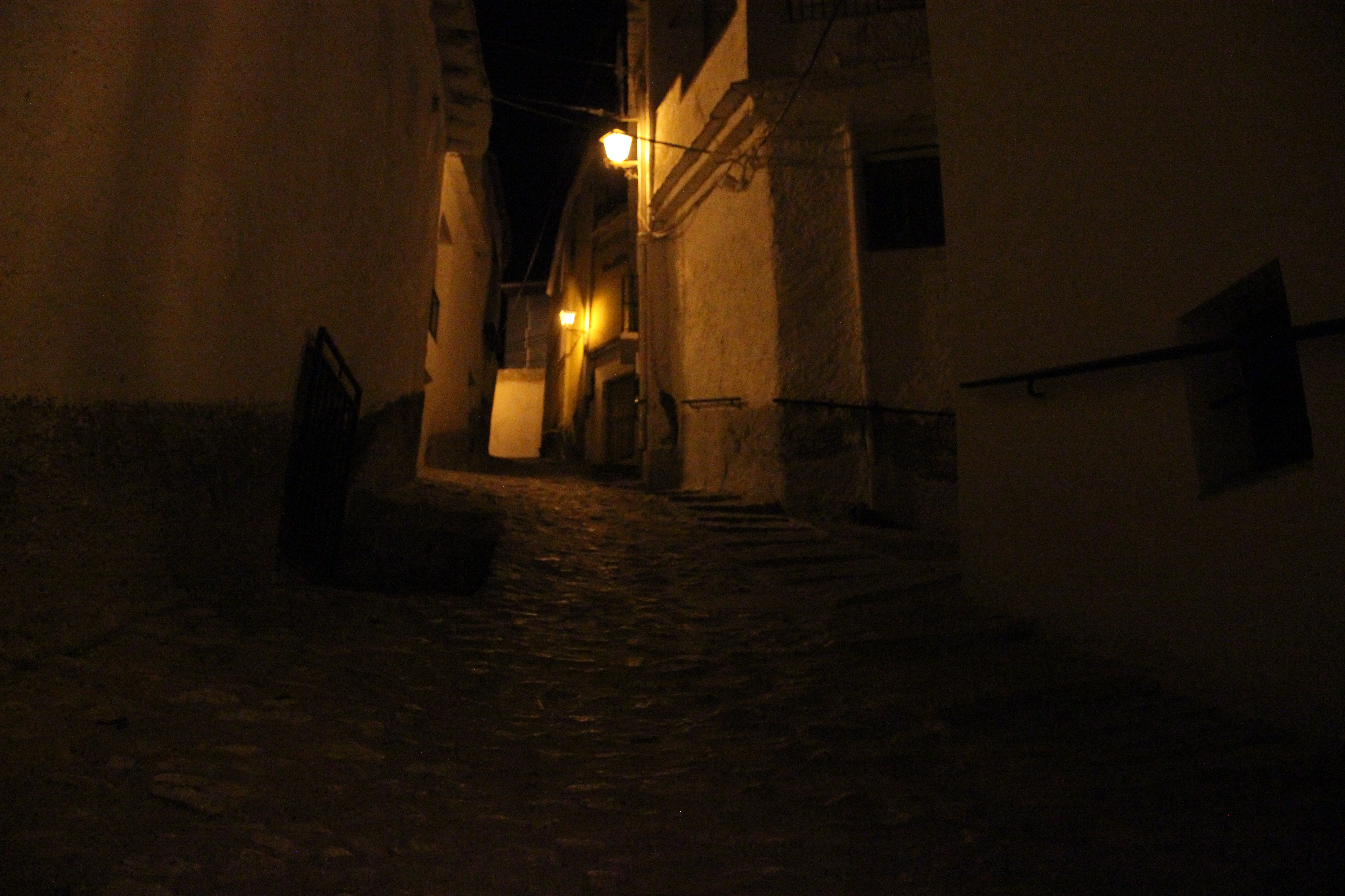 Busquístar bei Nacht