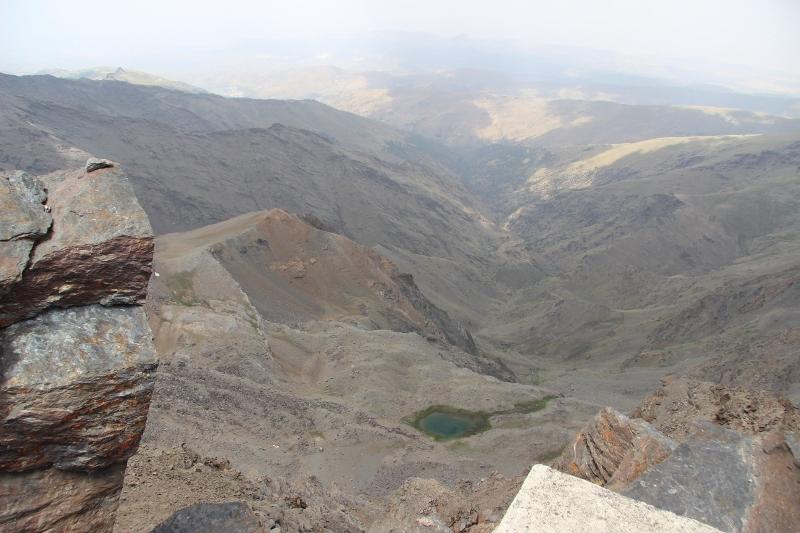 Ausblick vom Mulhacén
